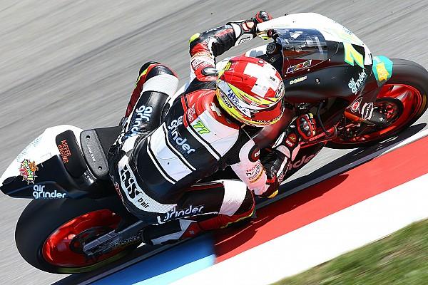 Moto2: Aegerter out a Brno, Raffin lanterna rossa