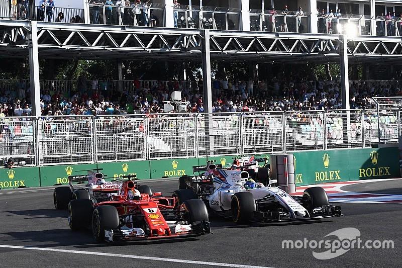 2017赛季F1全年超车次数减少近一半