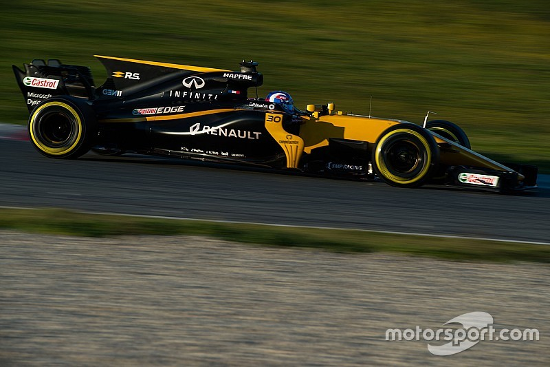 Palmer: Renault form in first F1 test a surprise