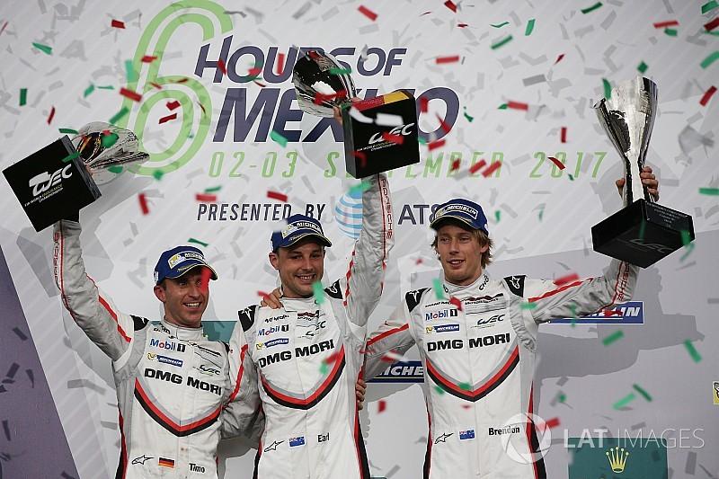 WEC Meksiko: Kemenangan hat-trick Porsche