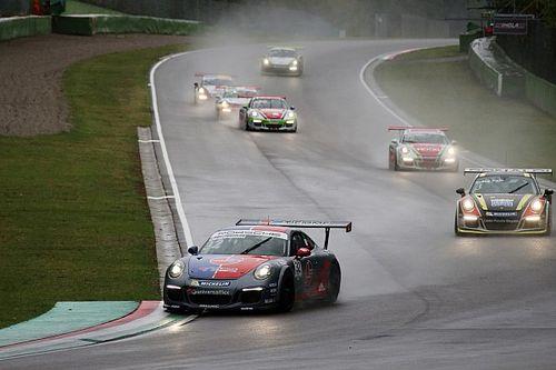"""Carrera Cup Italia, Imola: la pioggia """"battezza"""" la prima vittoria di Quaresmini in gara 2"""