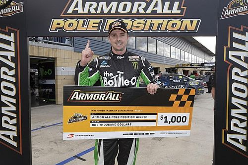 Tasmania V8s: Davison stripped of pole, Winterbottom takes P1