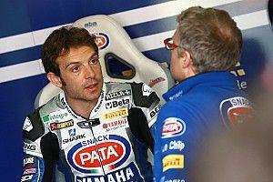 Guintoli de retour sur la Yamaha après sa blessure