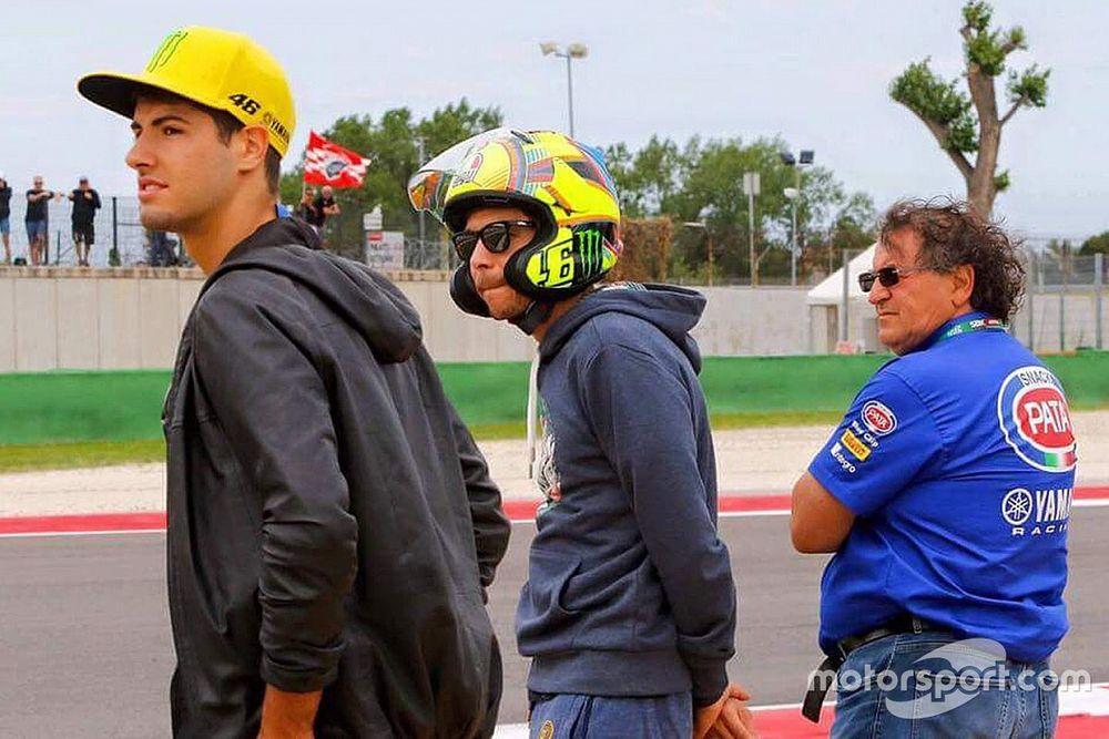 El WorldSBK sueña con Valentino Rossi
