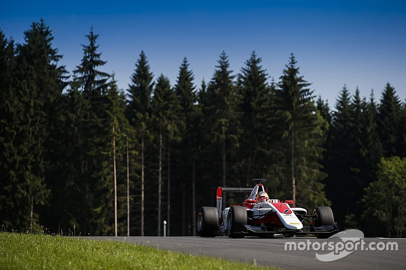 Red Bull Ring GP3: Leclerc survives late rain scare to win