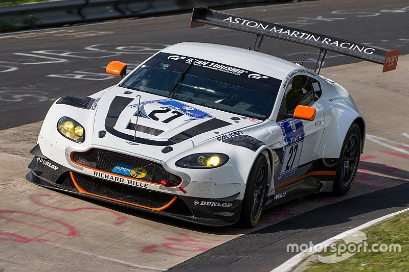 Aston Martin takes top eight slot for Nürburgring 24 Hours start