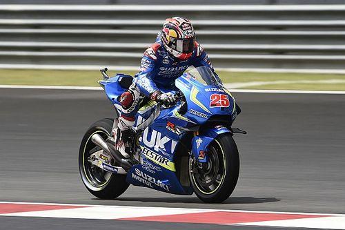 Malaysian MotoGP: Vinales fastest, Crutchlow crashes into Q1