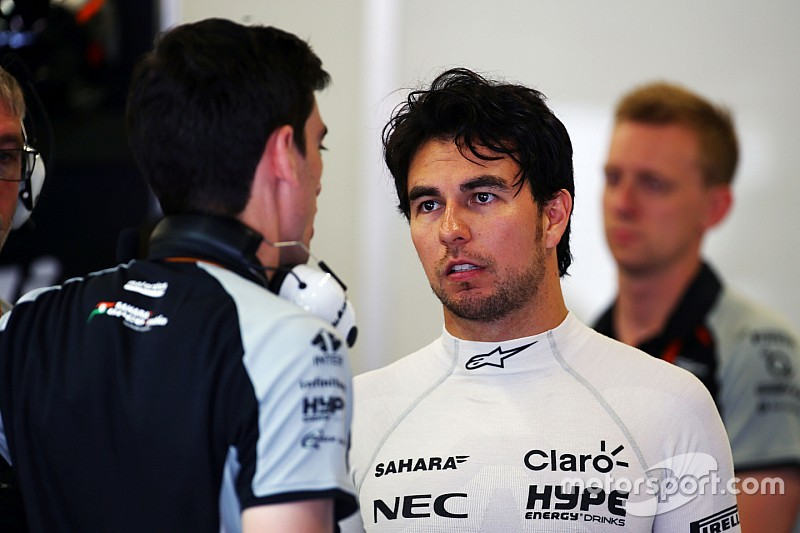 Perez penalised for gearbox change after FP3 shunt