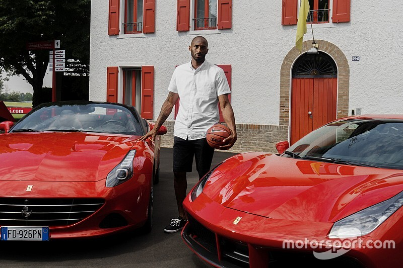 Motorsportwereld geschokt door dood basketballegende Kobe Bryant