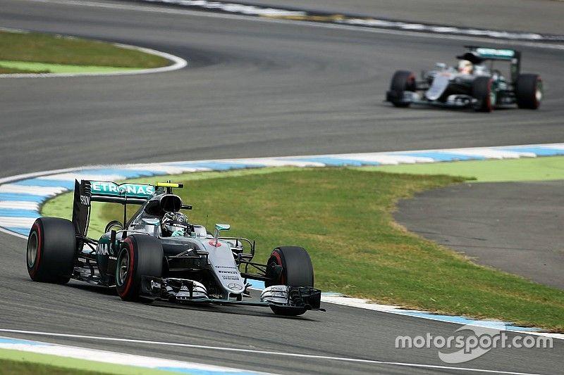 F1ドイツGP FP1:ロズベルグが首位。アロンソは前戦から6セッション連続7位!