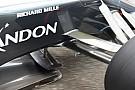 McLaren: sullo splitter della MP4-31 è apparsa una Bat wing