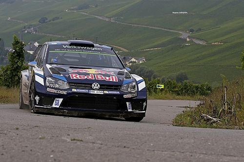 Germany WRC: Ogier takes the lead as crash halts rally