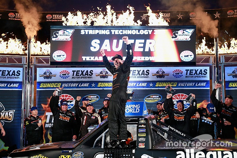 Sauter goes back-to-back with Texas victory