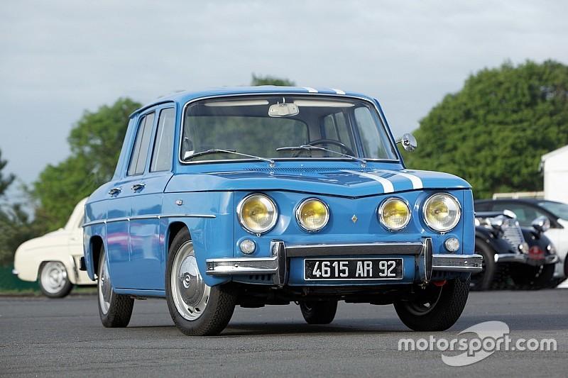 Quatre Renault 8 Gordini à l'assaut du Monte-Carlo historique