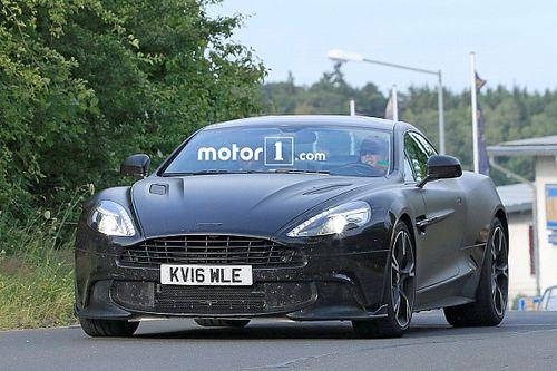 L'Aston Martin Vanquish S surprise près du Nürburgring