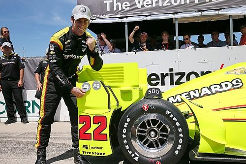 Pagenaud on pole as Chevrolet dominates at Iowa