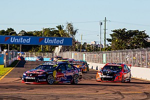 Supercars Race report Townsville Supercars: Van Gisbergen holds on for Sunday win