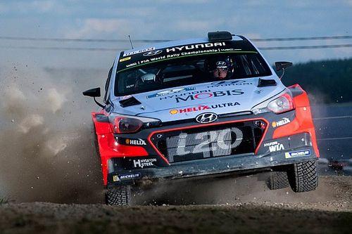 Hyundai Motorsport in striking distance of Rallye Deutschland lead on day one