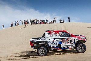 Bandenwissels kosten Ten Brinke tijd in derde etappe Dakar 2018