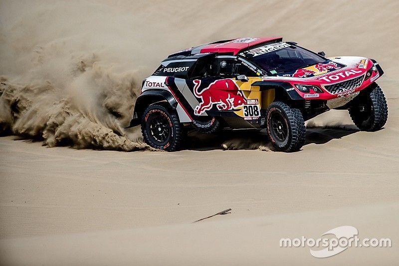 Dakar 2018, 2. Etap: Peugeot ile Despres lider