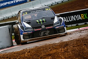 World Rallycross Qualifying report Barcelona World RX: Solberg sets pace as new season begins