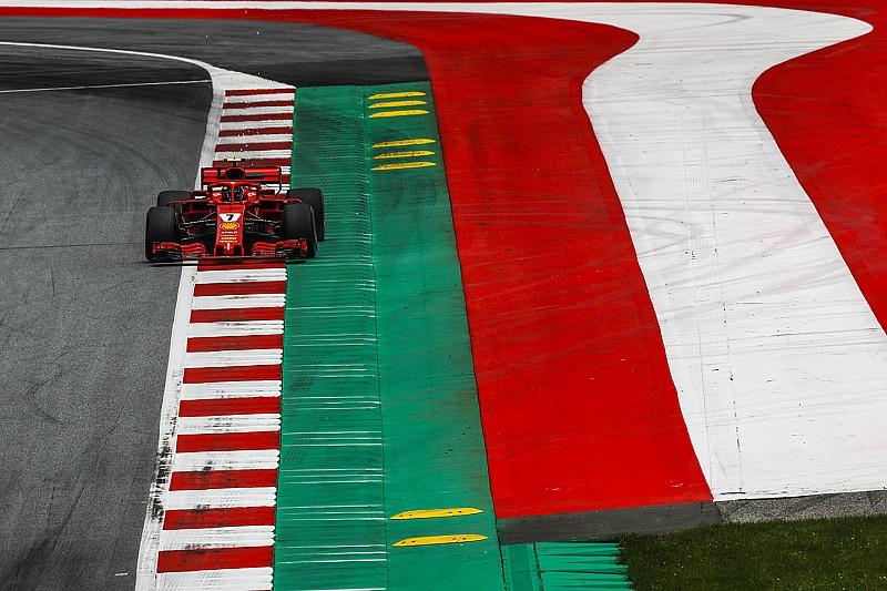Osztrák Nagydíj: a hivatalos rajtrács Vettel büntetése után