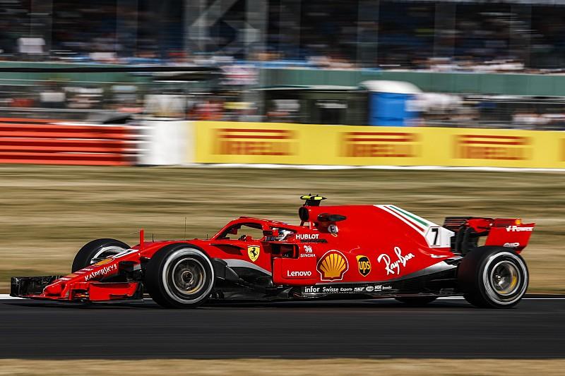 """Raikkonen: """"Oggi tutto bene. Speriamo continui a fare caldo perché la Ferrari così va forte"""""""