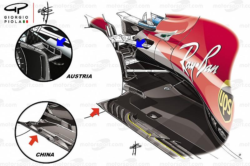 Analyse: De updates waardoor Ferrari boven kwam drijven op Silverstone