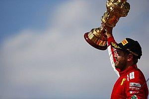 Vettel, tercer piloto con más victorias en F1 y en Ferrari