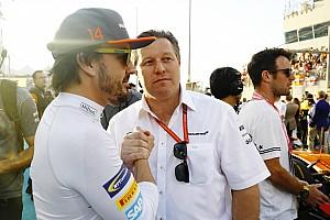 """Alonso: """"Brown está fazendo grandes coisas pela F1"""""""