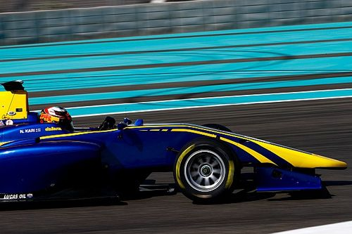 Kari tops opening day of Abu Dhabi GP3 testing