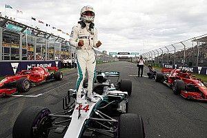 Australian GP: Hamilton storms to pole as Bottas crashes