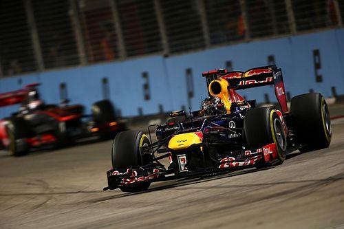 Vettel dübörgős V8-as F1-es köre Szingapúrból