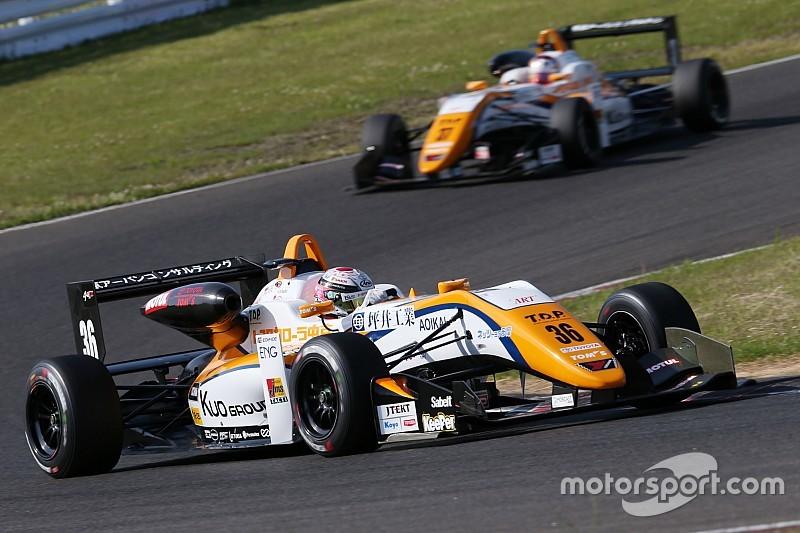 全日本F3第3戦、坪井翔がポール・トゥ・ウィン。大湯都史樹が初表彰台