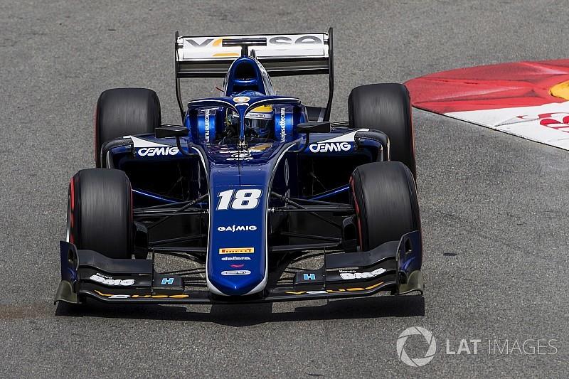 Сетте Камара пропустит первую гонку Формулы 2 в Монако