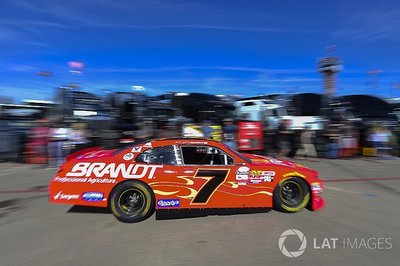 NASCAR suspends crew chief of Xfinity title contender Justin Allgaier