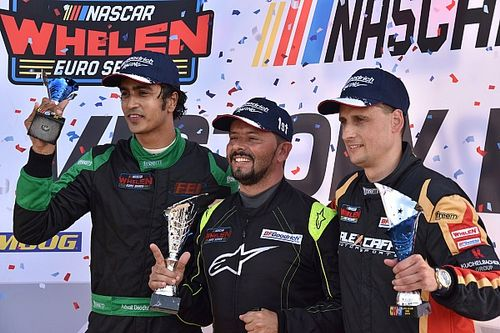 Italy NASCAR Euro: Deodhar finishes a close second