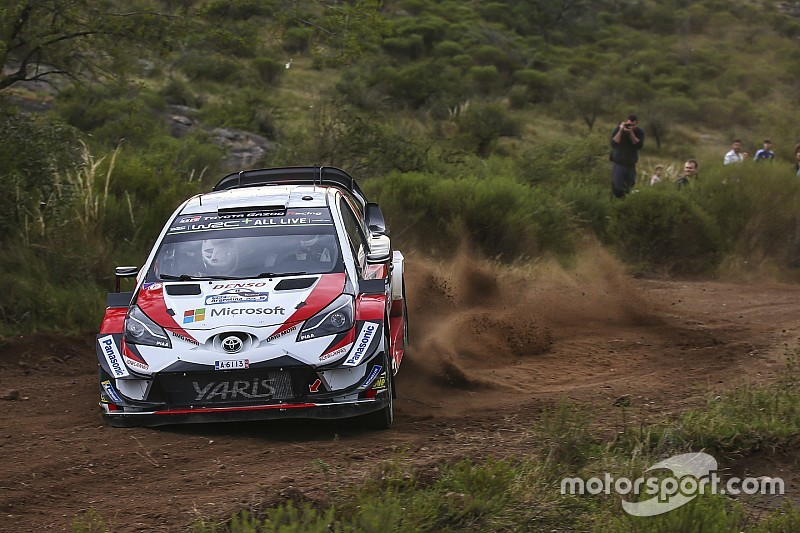 WRCアルゼンチン:トヨタのタナク、2番手に46秒差つけ最終日へ