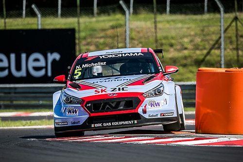 Michelisz también es el más rápido en la segunda clasificación de Hungría en el WTCR