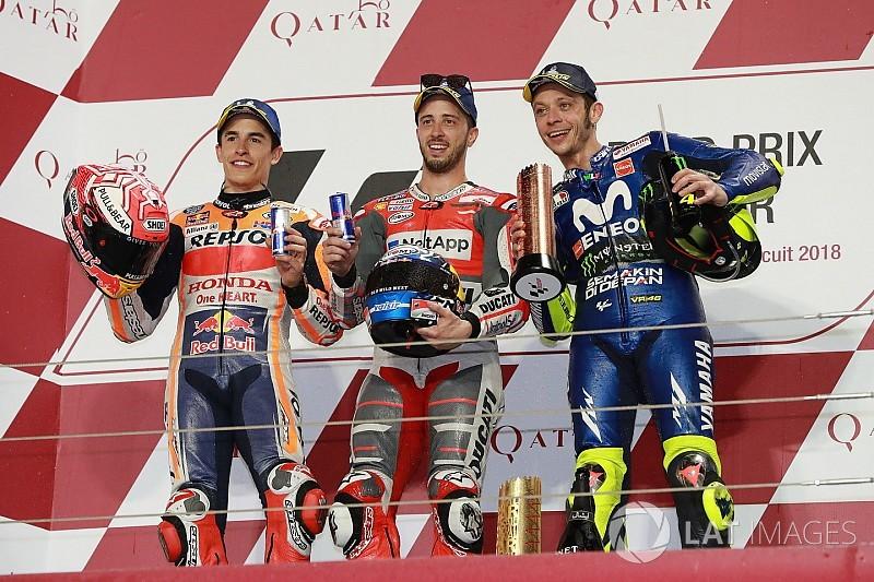 MOTO GP  2018 GRAND PRIX DU QUATAR - Page 2 Motogp-qatar-gp-2018-podium-second-place-marc-marquez-repsol-honda-team-race-winner-andrea-7857704