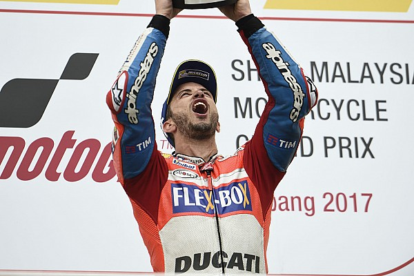 Rossi: Dovizioso shows young riders shouldn't be rushed