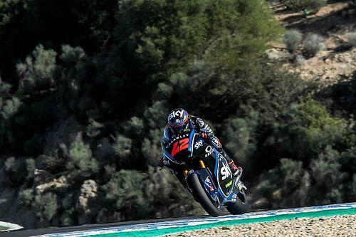 Moto2 Jerez: Bagnaia rapste in eerste training, Bendsneyder op P16