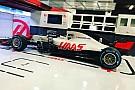 Haas, yeni aracını Barcelona'da piste çıkardı