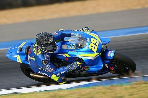 Beide Suzukis in den Top 6: Iannone und Rins in Katar schnell