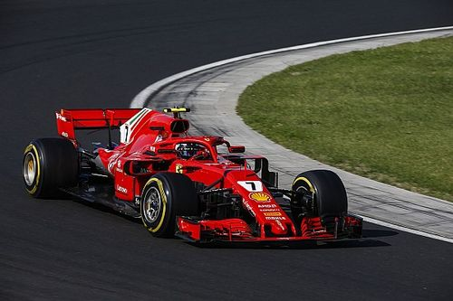 Raikkonen tops second morning of F1 test
