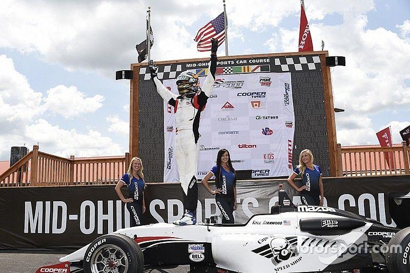 Mid-Ohio MRTI: Kirkwood earns USF2000 title, VeeKay sweeps Pro Mazda