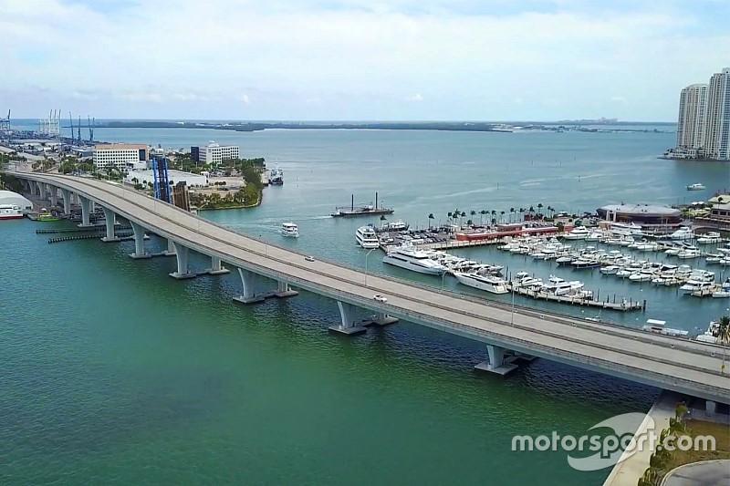 Video: Miami F1 pisti tam olarak nerede olacak?
