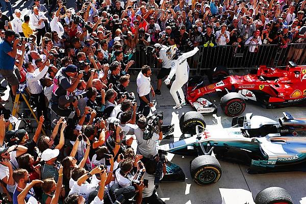 F1 Reporte de la carrera Hamilton ganó en Austin y quedó a las puertas del título
