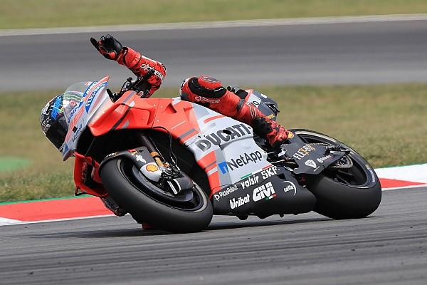 MotoGP Race report Barcelona MotoGP: Lorenzo wins again in crash-filled race