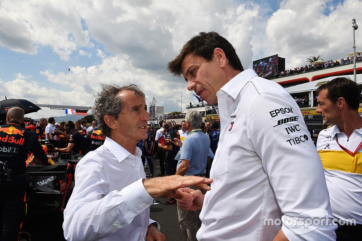 Wolff sought Prost's advice to avoid Senna-like rivalry issues